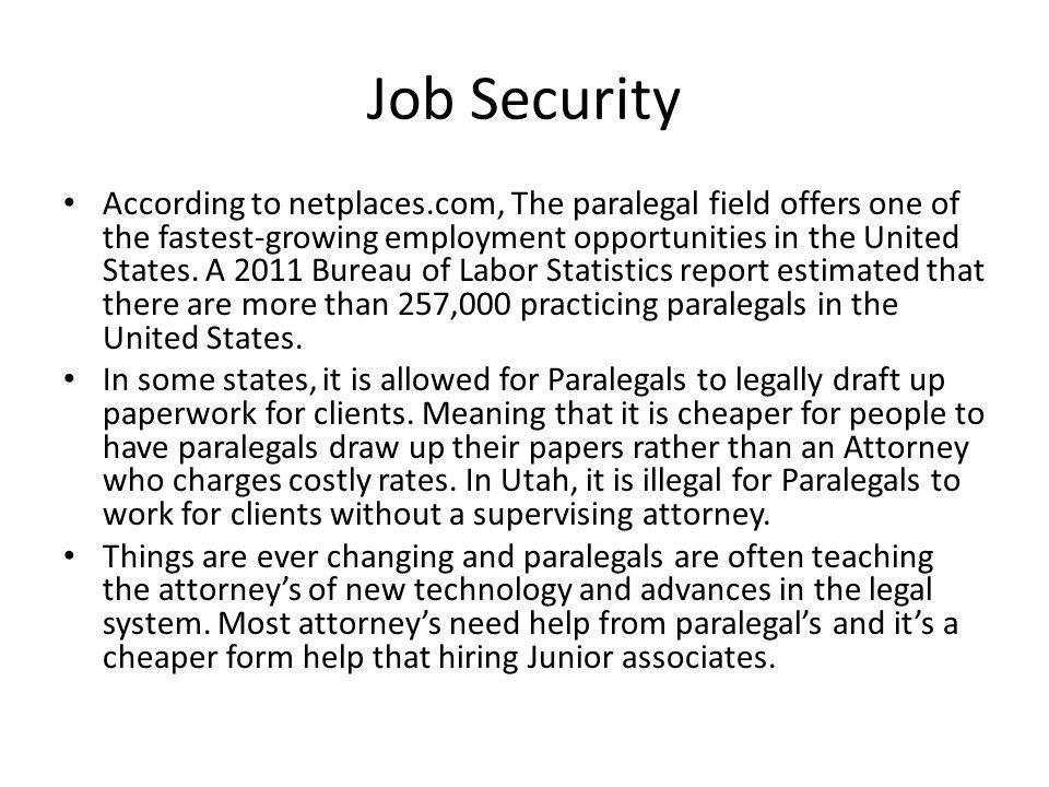 5 job - Ip Paralegal Job Description