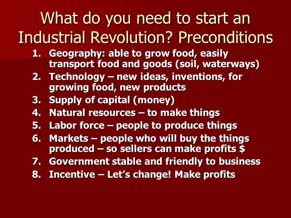 change in transport industrial revolution