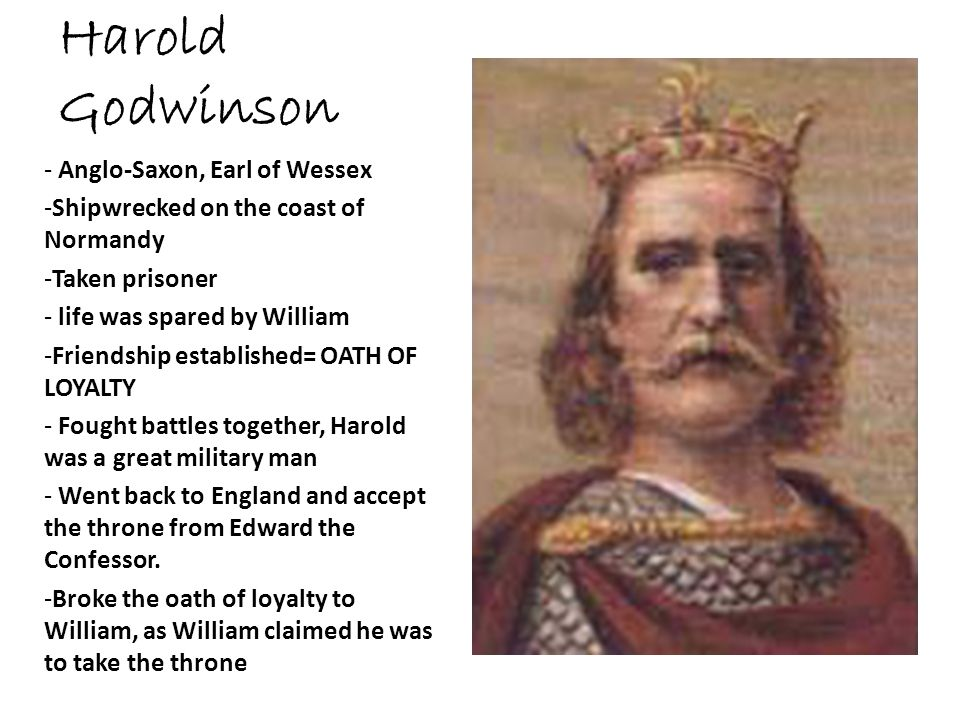harold godwinson After harold had returned from his brilliant defeat of harald of norway in the north of england, he learned quickly of the norman invasion he'd been suspecting it for some time, but it fell hard on the heels of victory at stamford bridge that he would have to defend his country in the south, as well.