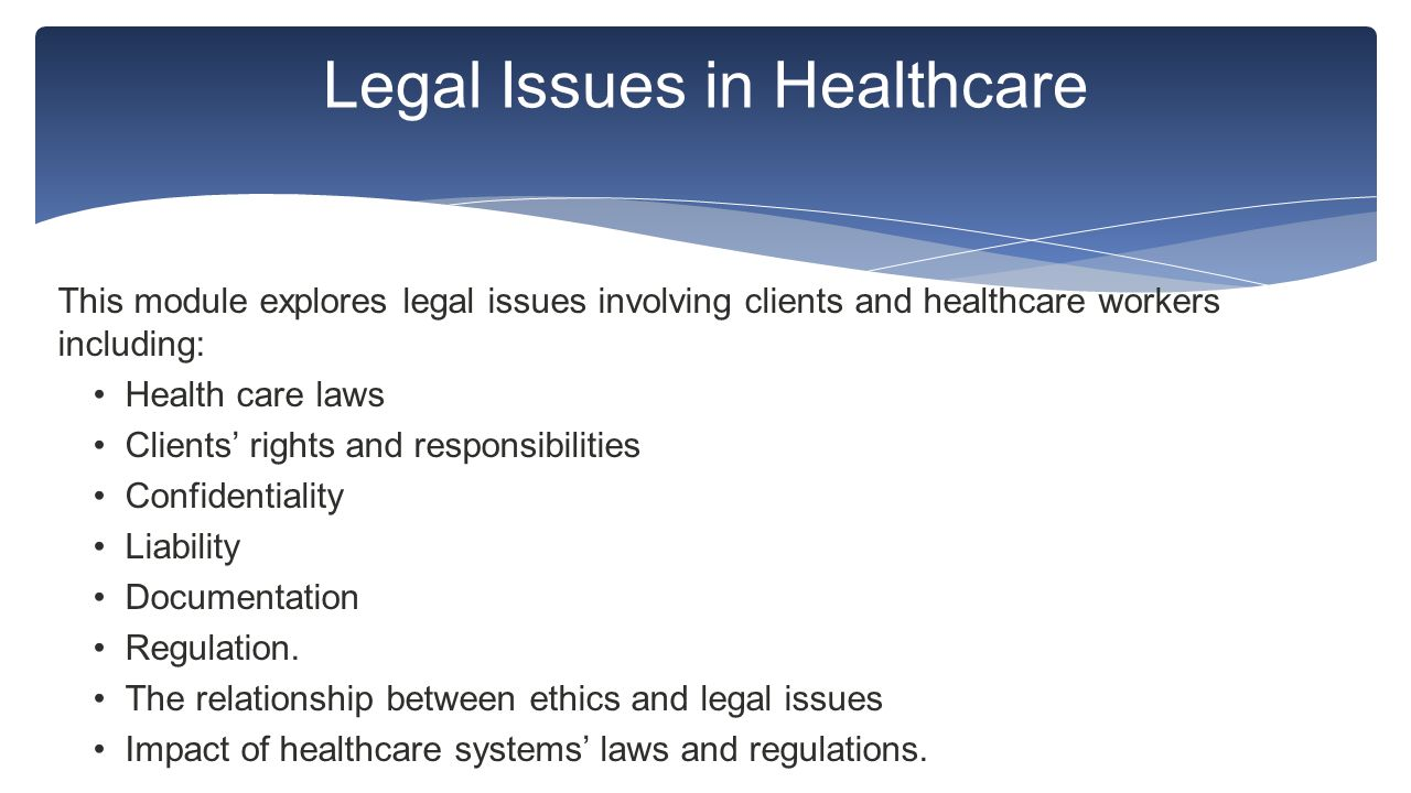 ethical issues facing health care Information paper - the ethics of health care reform: issues in emergency medicine - june 2011.