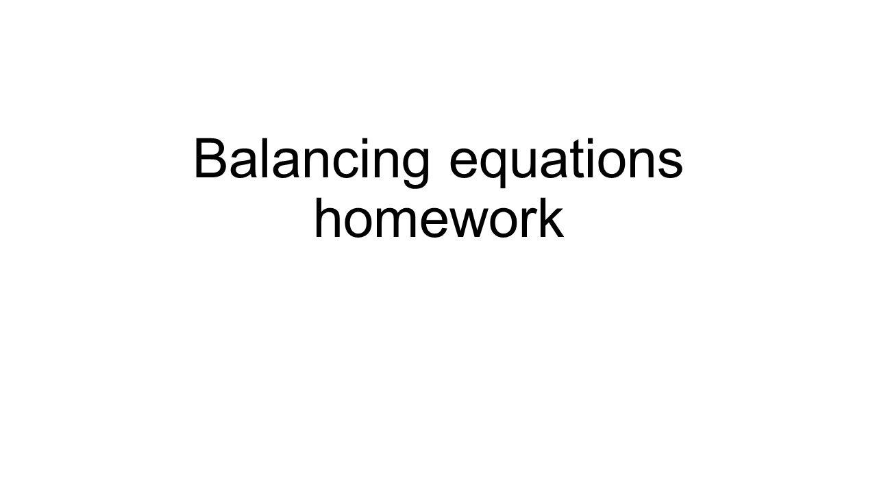 worksheet Pharmacy Technician Math Worksheets balancing equations homework help