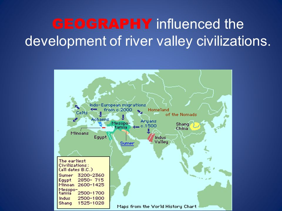 Chapter Ancient River Valley Civilizations Regions City - World map of ancient river valley civilizations