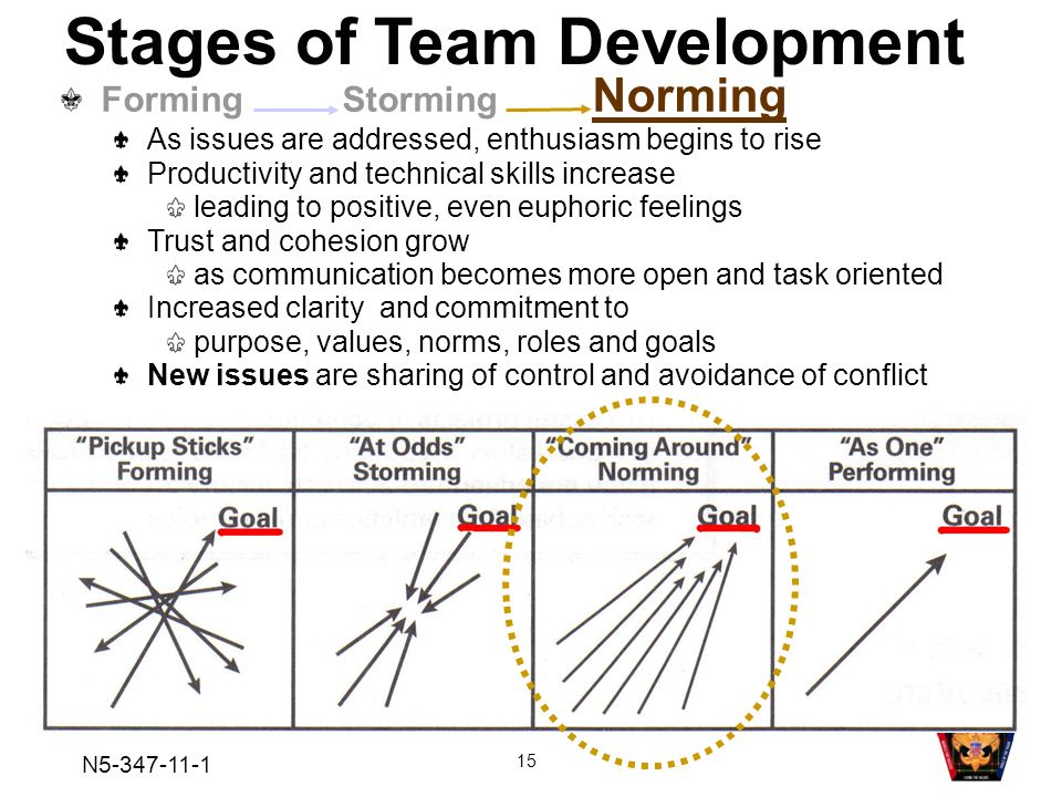 5 stages of team development The adjourning stage is the fifth stage of bruce tuckman's five stages of group development in this lesson, learn about the definition and.