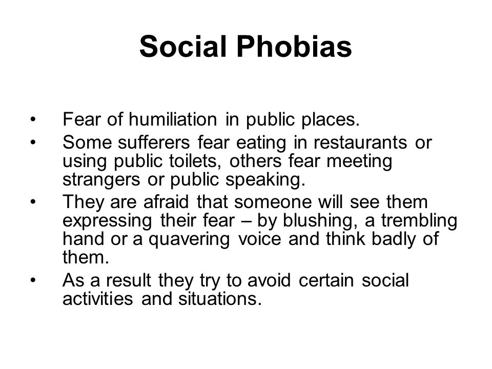a psychological explanation of fear or phobia Home a2 module 4 anxiety disorders: an introduction to phobias & explanations an introduction to phobias & explanations specific phobia.