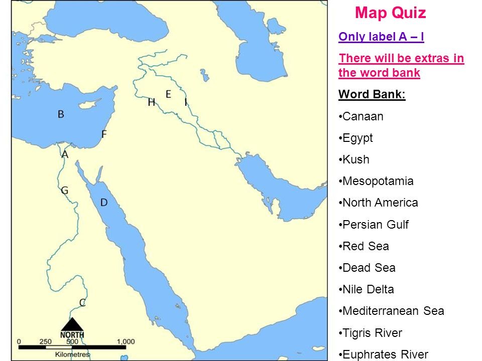 Ch Israel After This Chapter You Will Know Where Canaan Is - Map of egypt mesopotamia and israel