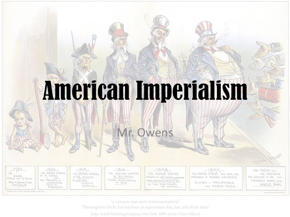 american imperialism a platform for the Reference interview anti-imperialism in the united states: that the american constitution was only meant for certain races and would only extend as far as the.