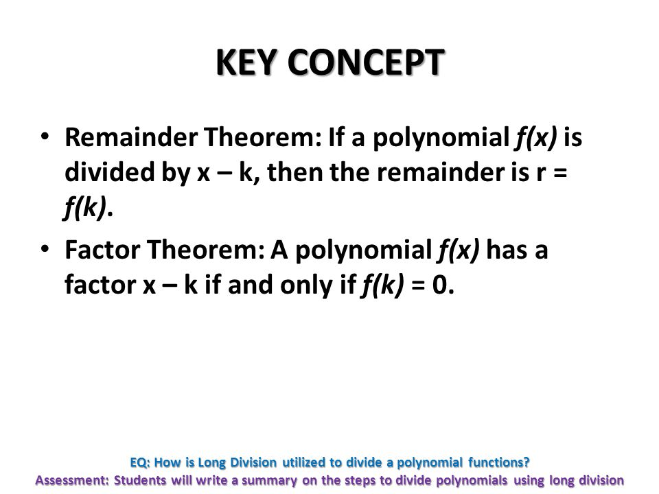 Warm up homework qs dividing polynomials using synthetic eq how is long division utilized to divide a polynomial functions ccuart Images
