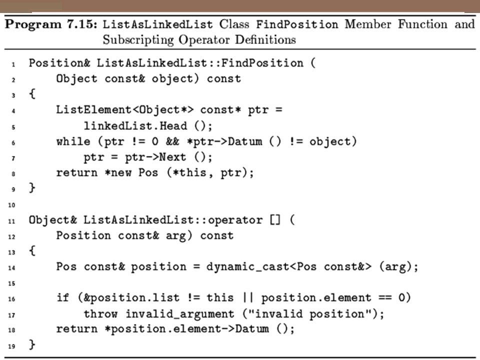 FindPosition()