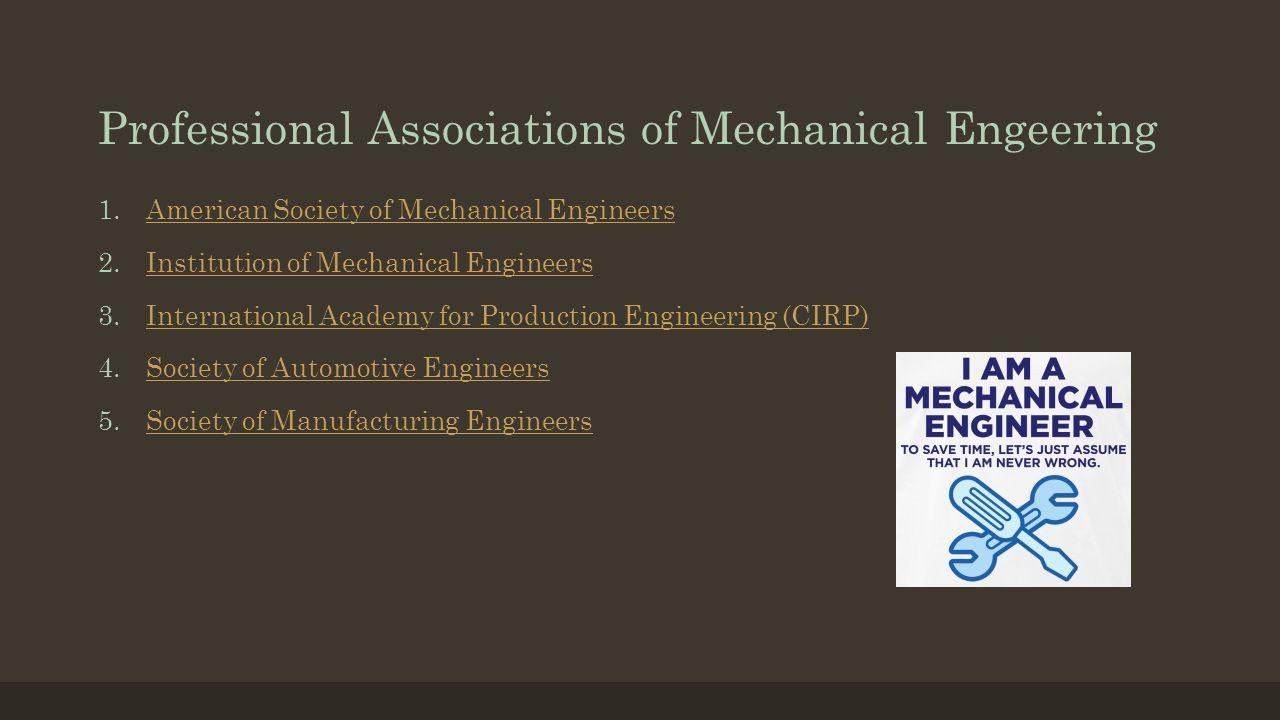 description of mechanical engineer