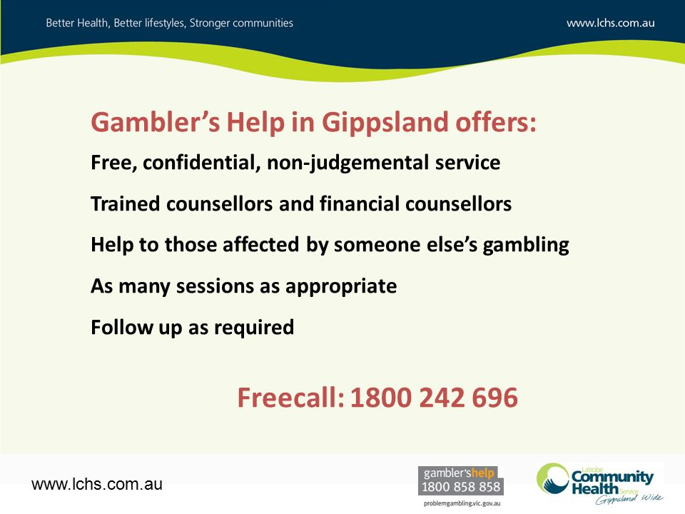 Gambling financial counselling gambling religion