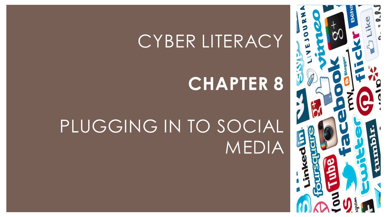  We will learn about different types of social media and about their risks and rewards.