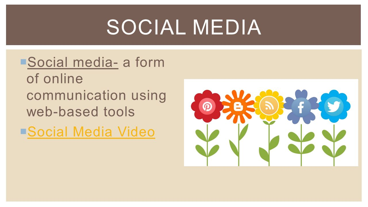  Social Networks- allow us to connect to others online through status updates, posts, pictures, and videos  Examples: Facebook, LinkedIn SOCIAL NETWORKS