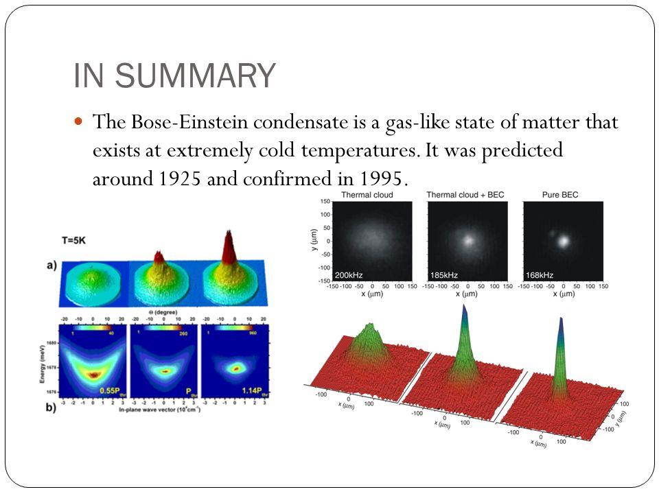 Bose Einstein Condensate Bec Bose Einstein Condensate Bec Bose