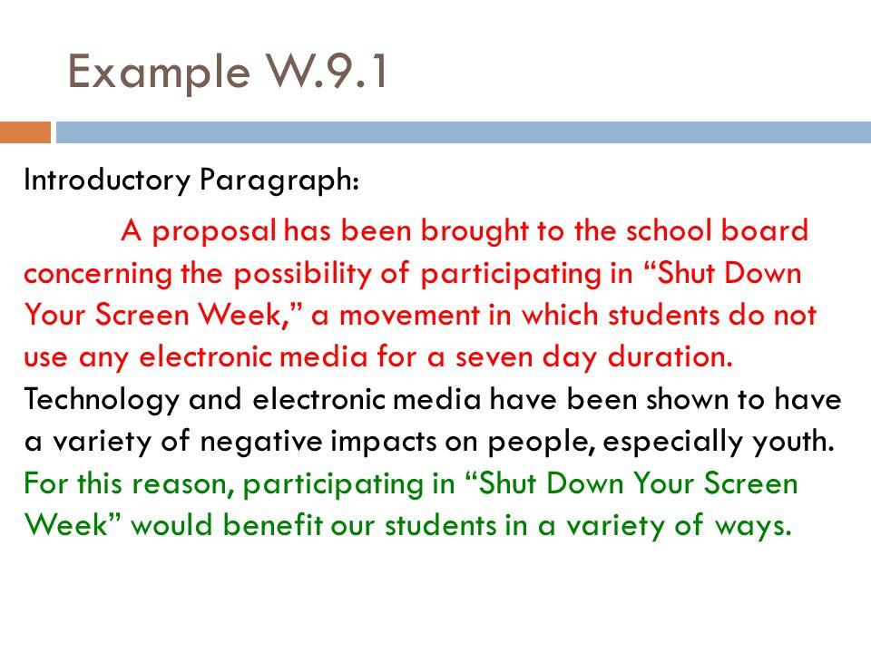 argumentative essay introduction paragraph mother