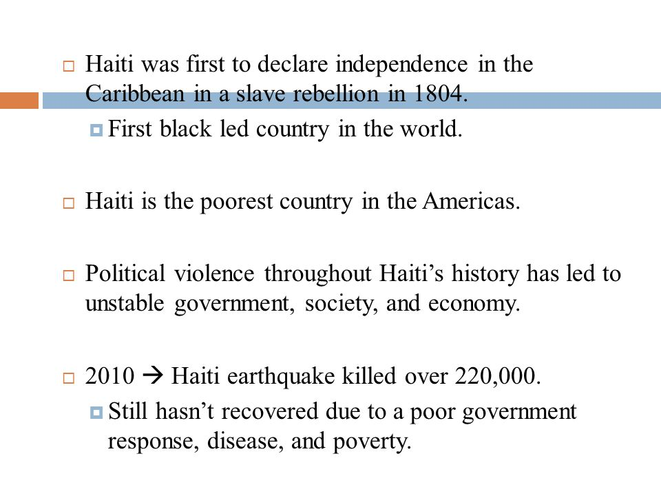 CENTRAL AMERICA CARIBBEAN History Cultural Hearth Of The - Poorest caribbean countries