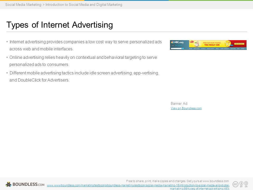 Internet advertising provides companies a low cost way to serve personalized ads across web and mobile interfaces.