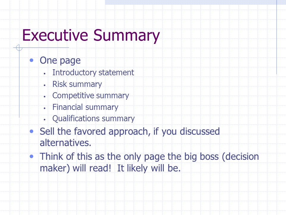 Doc408523 Project Executive Summary Template 17 Best ideas – Project Executive Summary Template