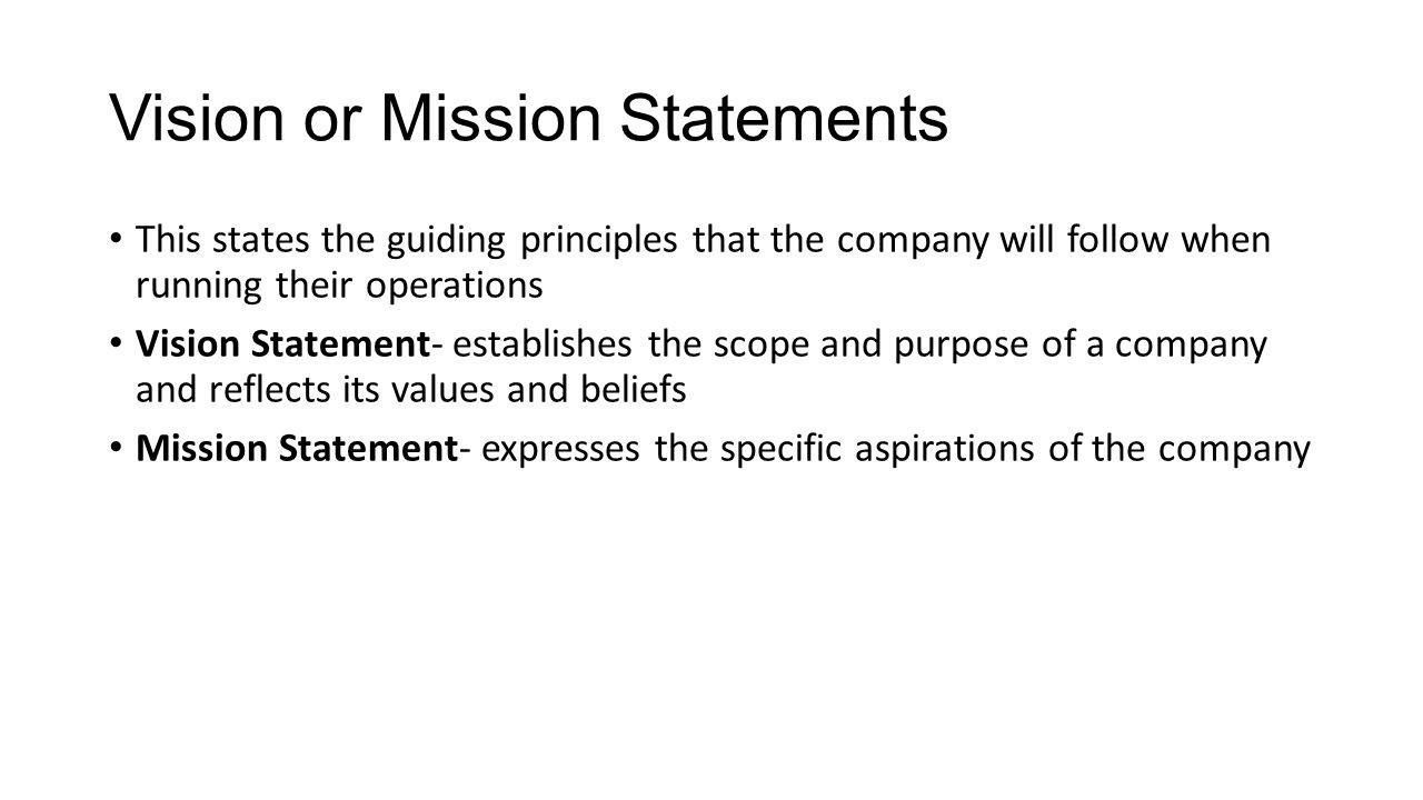 5 Vision ...