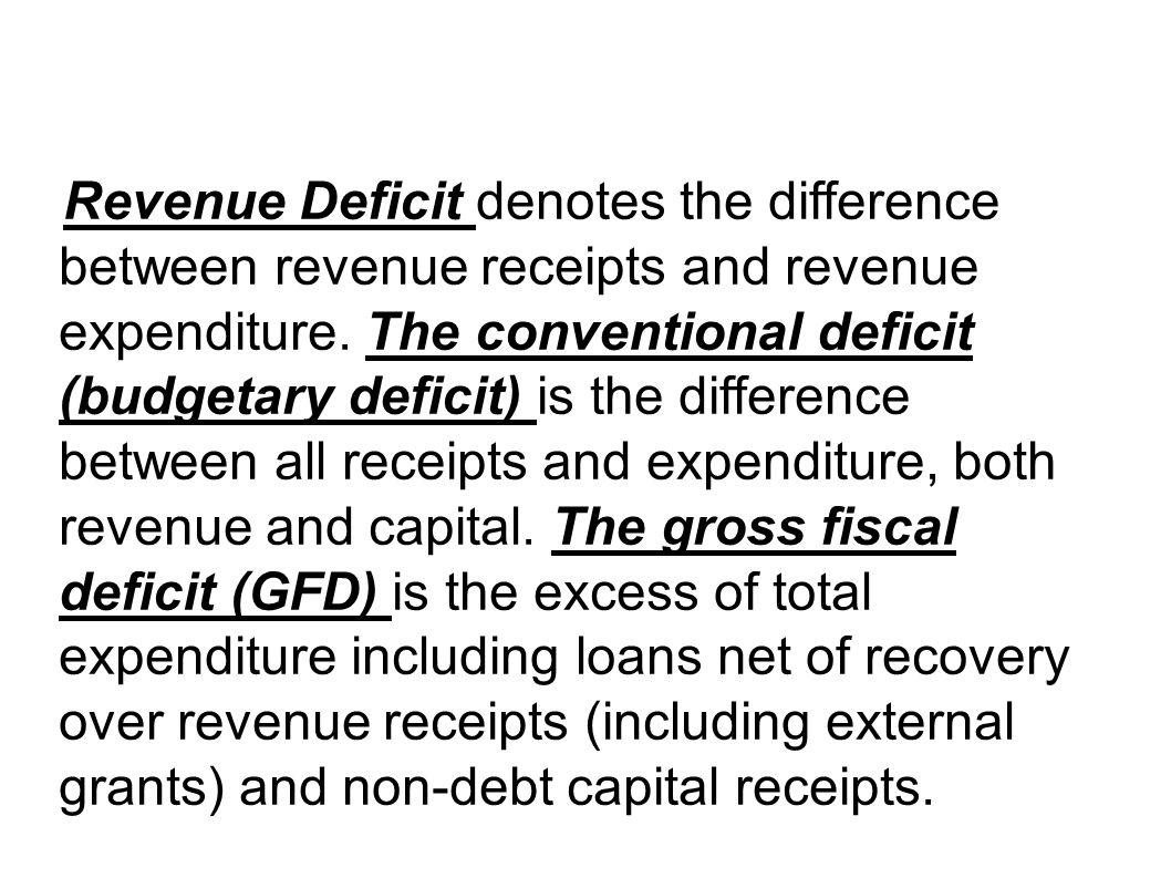 gross fiscal deficit