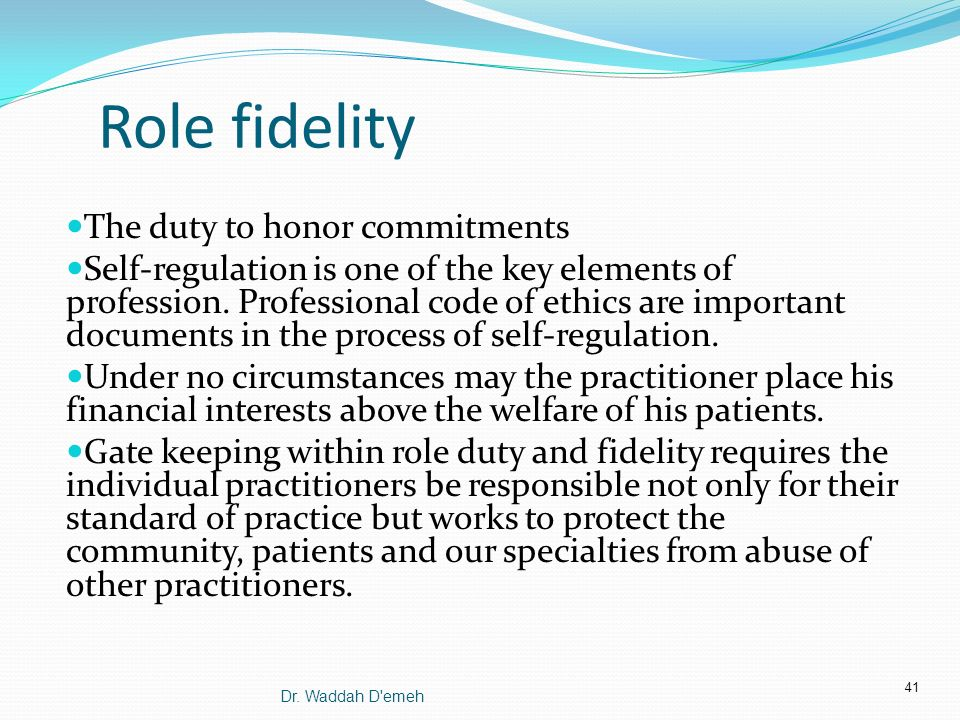 What is the importance of honoring commitments (personal and professional)?