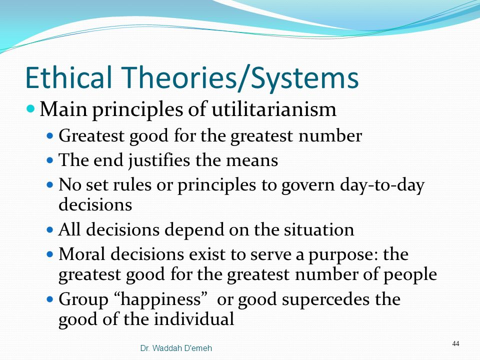 Critically examine how ethical theories
