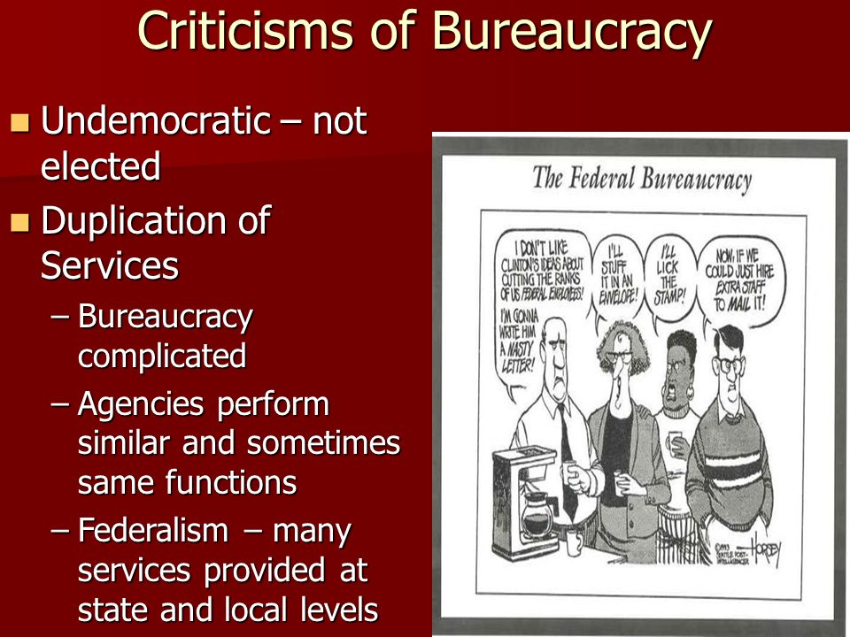 Bureaucracy. The Nature of the Bureaucracy Bureaucracy: 4 th ...