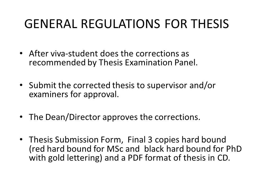 bound copy of dissertation