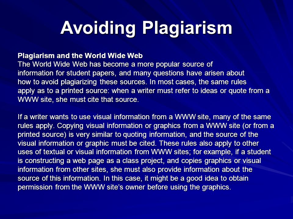Avoiding Plagiarism How Can Students Avoid Plagiarism To avoid – Avoiding Plagiarism Worksheet