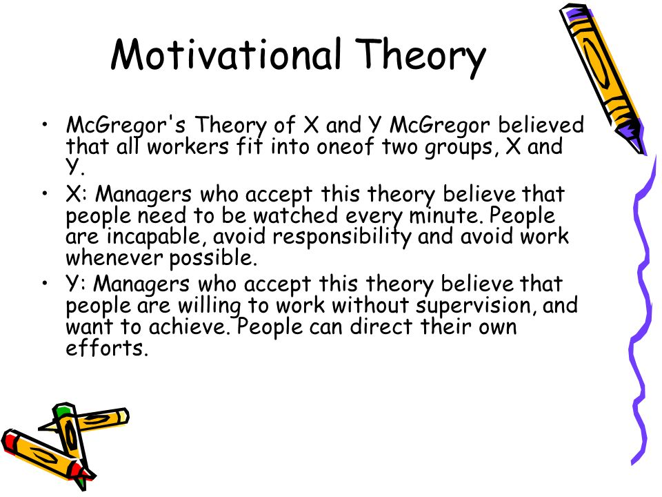 motivational theories in human resource management Motivation in the human resource frame many management actions effect employee motivation or commitment work motivation: theory.