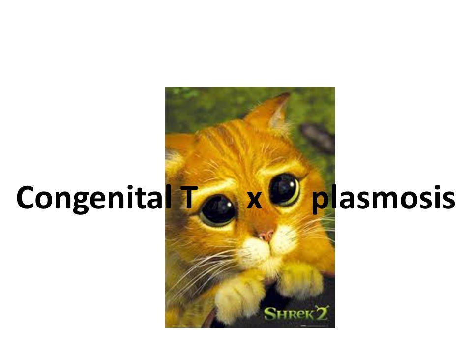 3 Congenital T x plasmosis