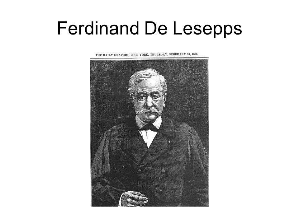 Ferdinand De Lesepps