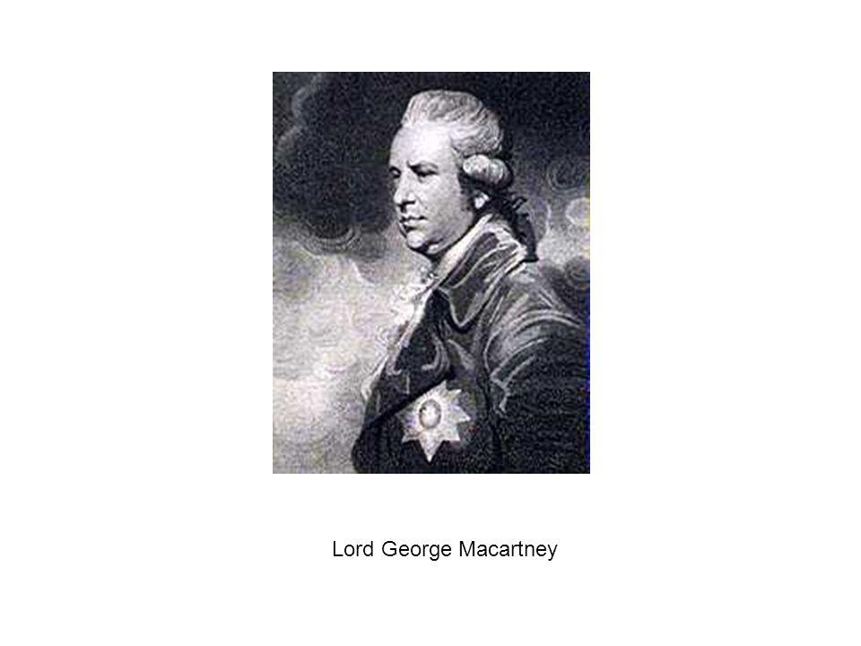 Lord George Macartney