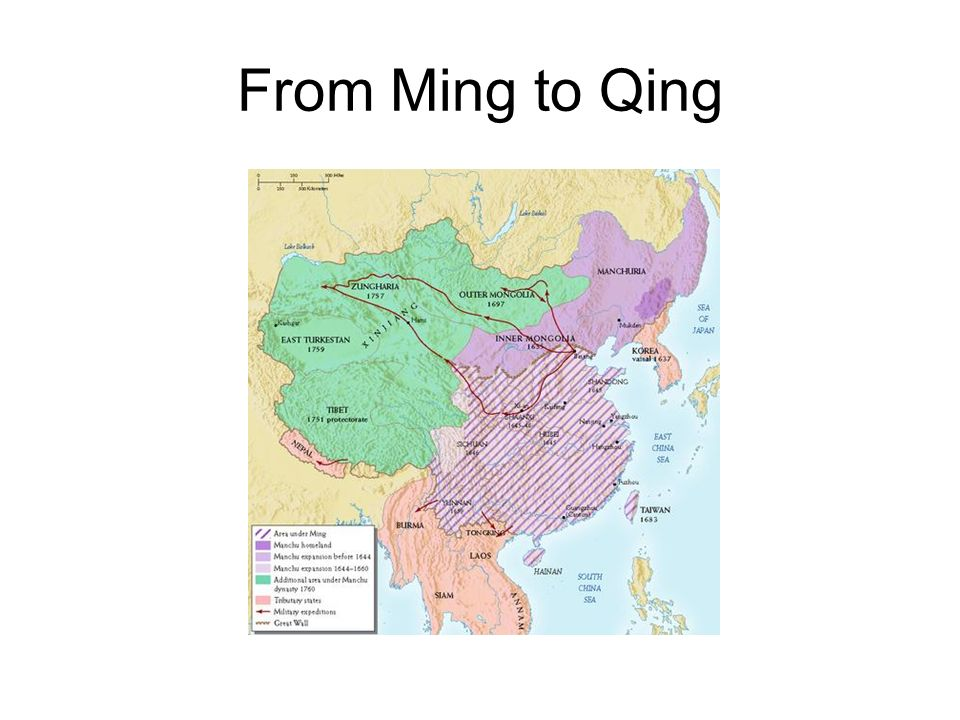 From Ming to Qing
