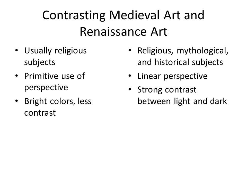 Renaissance. Comparing Art- Turn and Talk!