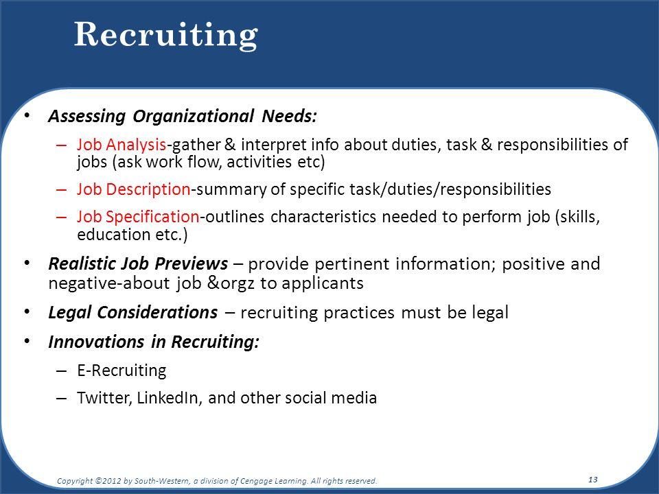 manage recruitment assessment task 2 Assessment task 2 bsbhrm506a manage recruitment selection and induction processes more about bsbinn601b manage organisational change assessment task 2.