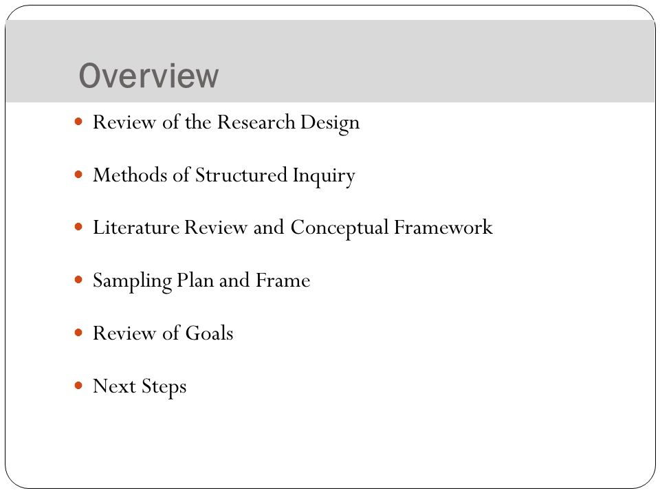 Traditional literature review