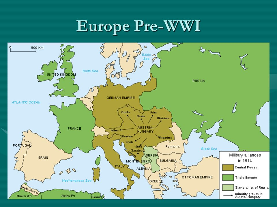 World war one the outbreak of war reviewthe four causes of war 3 europe pre wwi gumiabroncs Images