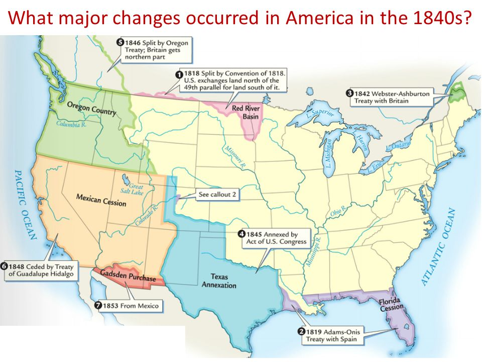The Period Of Time In US History Before The Civil War Is Known - Us map before civil war