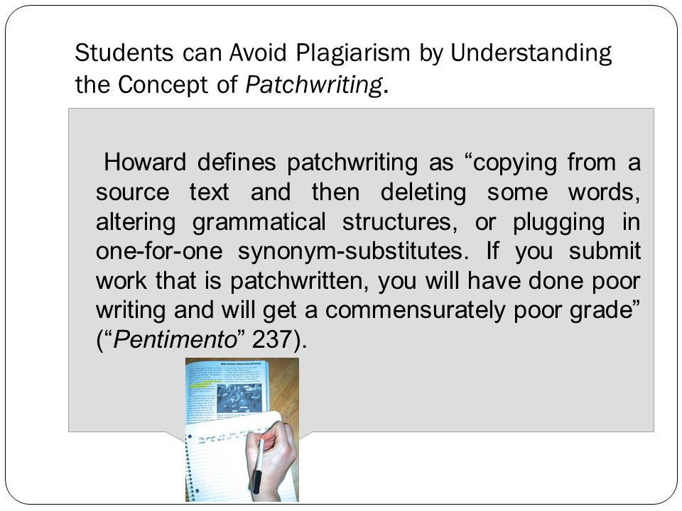 Strategies for Avoiding Plagiarism Nancy Bou Ayyash Caroline – Avoiding Plagiarism Worksheet