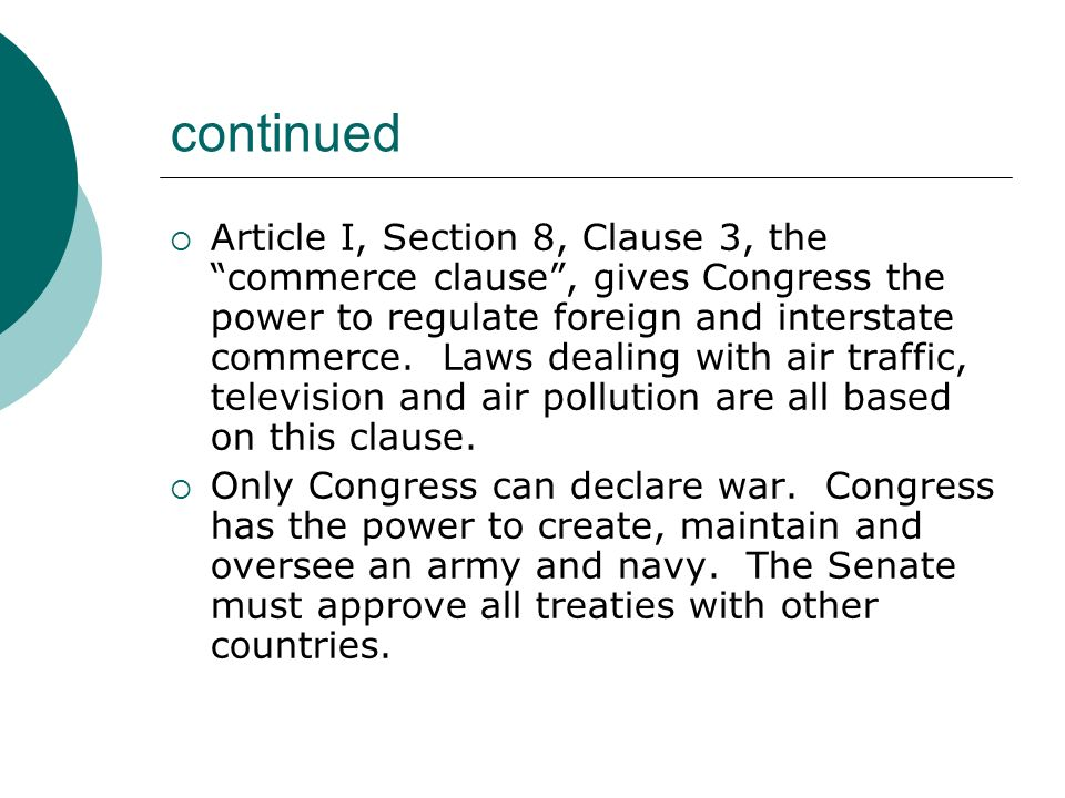 the power of the congress to regulate commercial activity regarding firearms Can congress do that discuss what they observed regarding the constitutional powers of congress to regulate commerce with foreign nations.