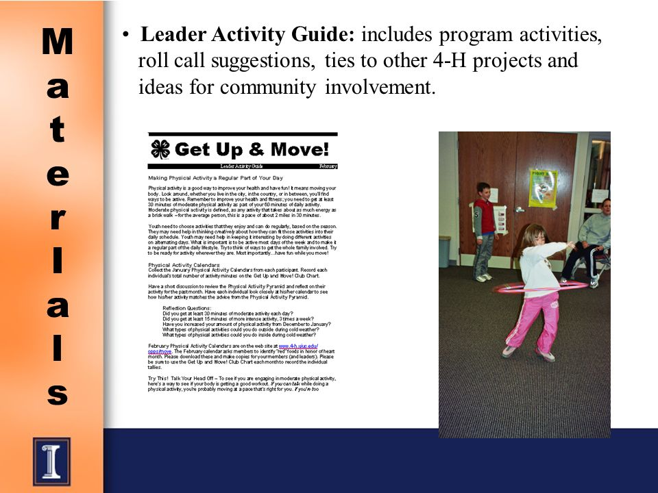 leader activity guide includes program activities roll call suggestions ties to other 4