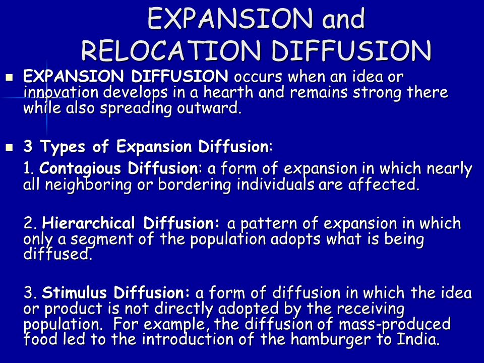 Does change occur by diffusion or independent invention?
