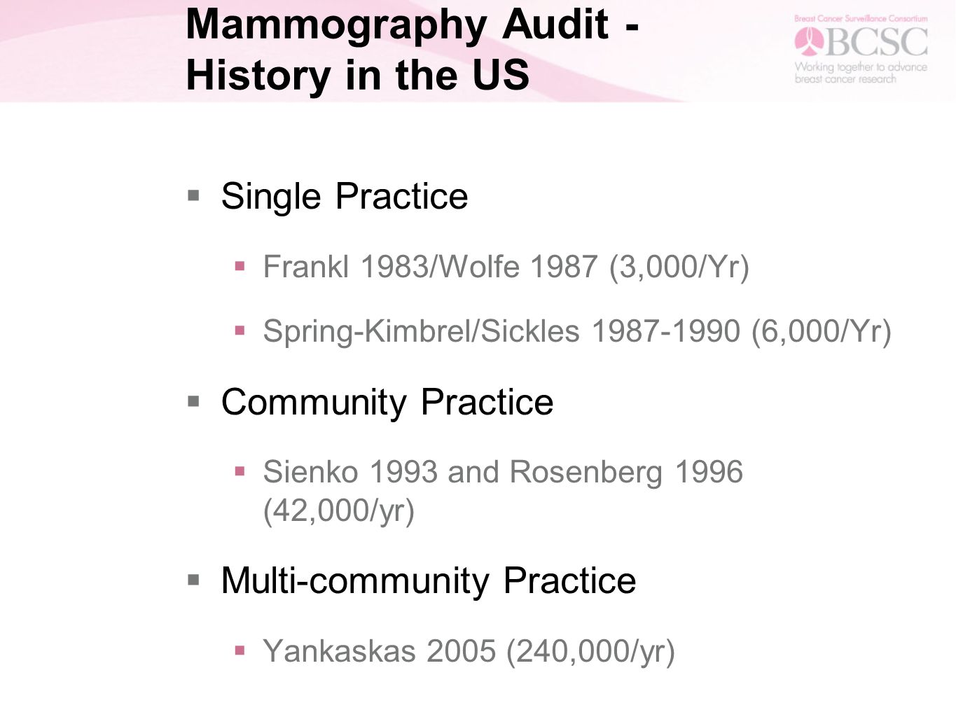 Screening mammography benchmarks modified angoff screening 3 mammography xflitez Gallery