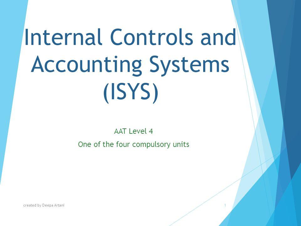 internal accounting controls jomonacom essay