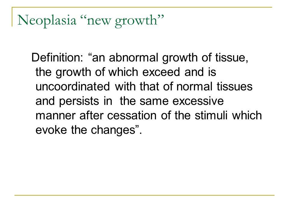 3 Neoplasia U201c ...