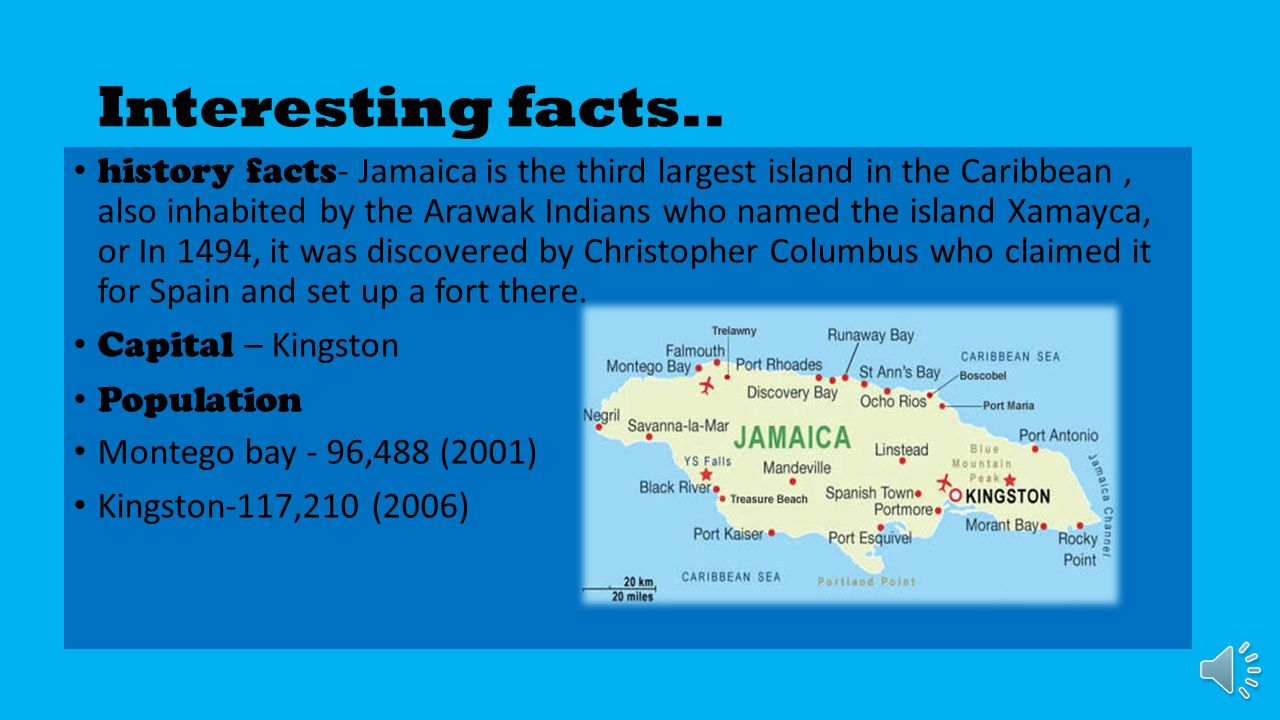 Jamaica Presented By Sydney Yorke Interesting Facts History - 12 interesting facts about jamaica