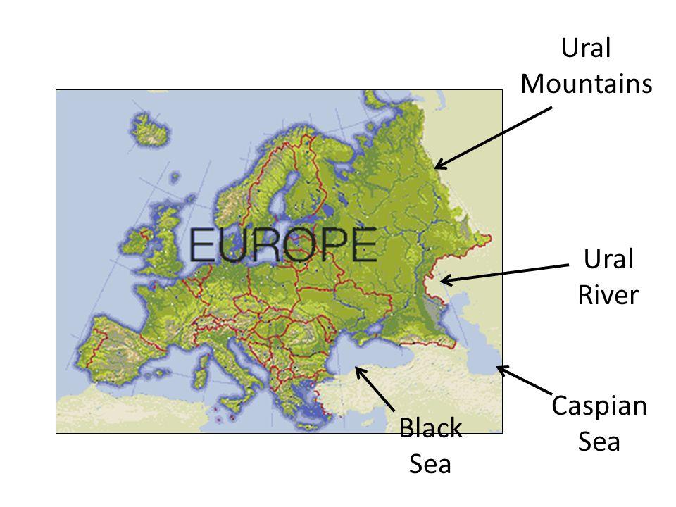 Russia vocabulary terms ppt download 4 ural mountains ural river caspian sea black sea publicscrutiny Images