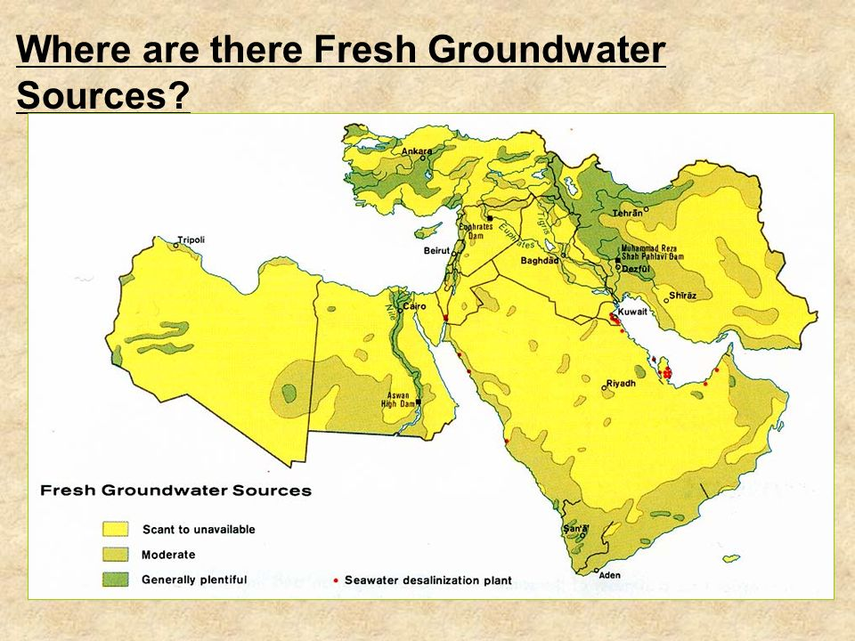 Physical Geog - The Natural Resources of the Middle East What is the dominant form of agriculture in the Middle East.