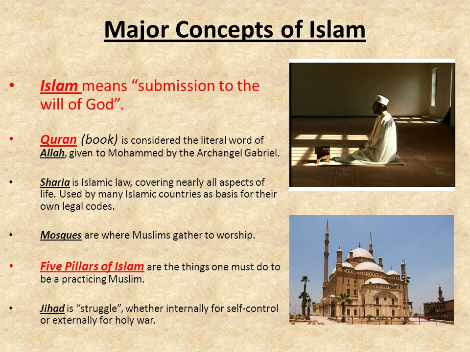 What is Islam. Primary religion of the modern Middle East, about 1.5 billion followers.