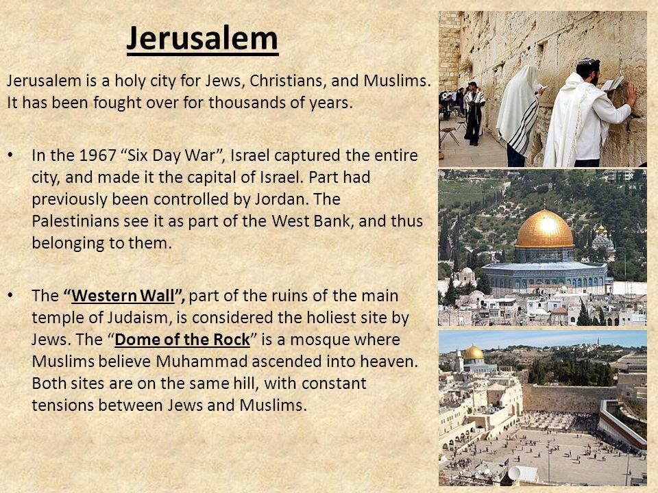 Arab-Israeli Wars Israel believes it has a right to exist.
